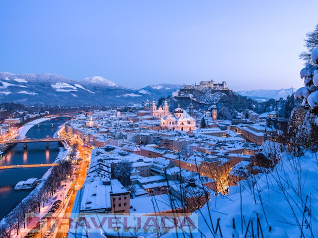 Jarmark Bożonarodzeniowy Salzburg z noclegiem HB