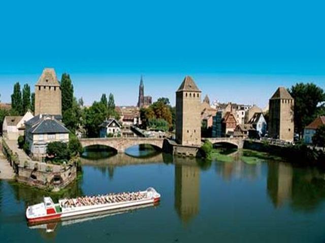 Alzacja: Strasburg, Colmar
