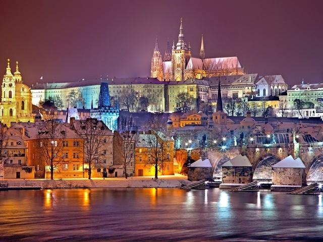 Romantyczna Praga- zimowy spacer
