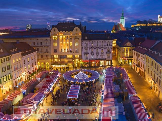 Jarmark Bożonarodzeniowy Bratysława Express